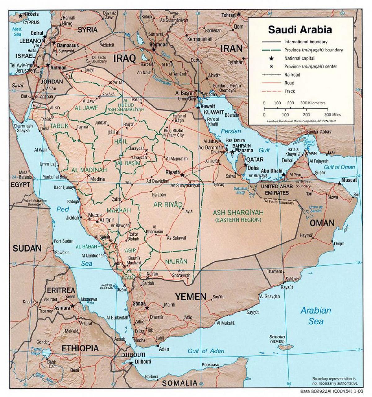 المملكة العربية السعودية خريطة المدن خريطة الطريق من المملكة العربية السعودية مع المدن برا غرب آسيا آسيا