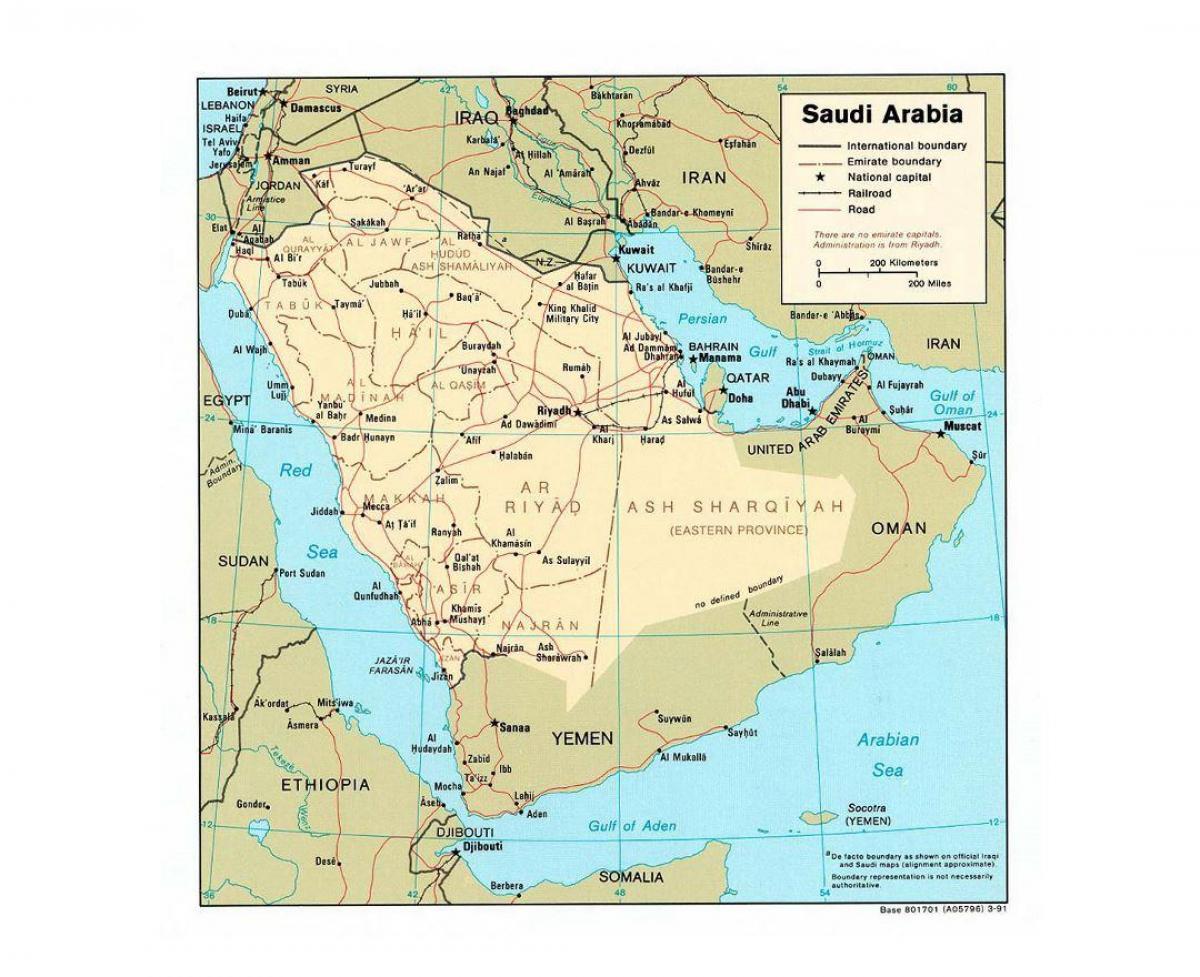 المملكة العربية السعودية خريطة مدن المملكة العربية السعودية خريطة المدن الرئيسية غرب آسيا آسيا